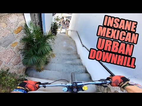 INSANE MEXICAN URBAN DOWNHILL - GoPro RACE RUN