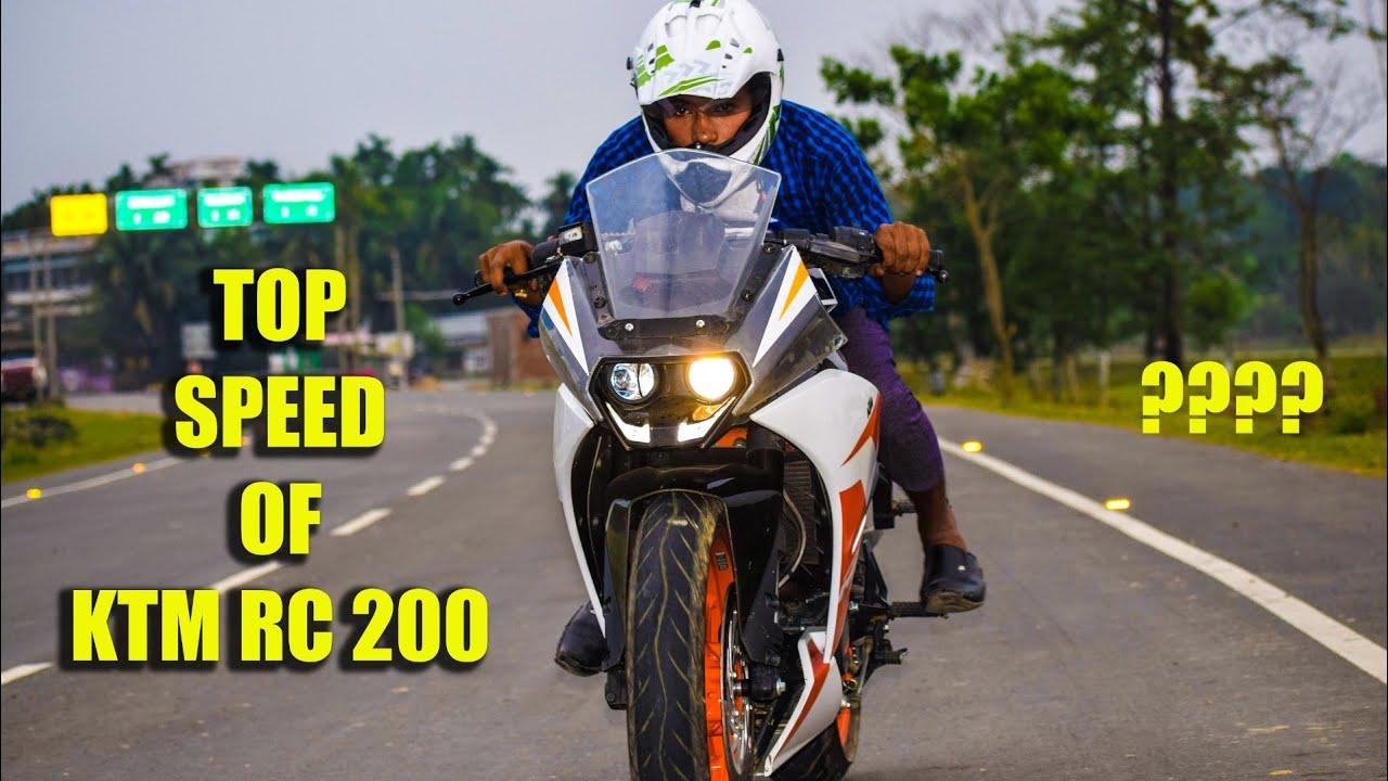 Ktm rc 200 top speed    #etechnomart