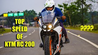 Ktm rc 200 top speed || #etechnomart