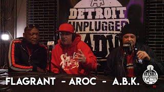 ABK INTERVIEW NO PAINT W/ AROC & FLAGRANT   DETROIT UNPLUGGED RADIO YouTube Videos