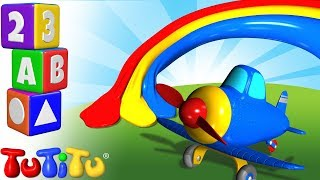 TuTiTu Preschool | Learning Colors for Babies and Toddlers | Airplane