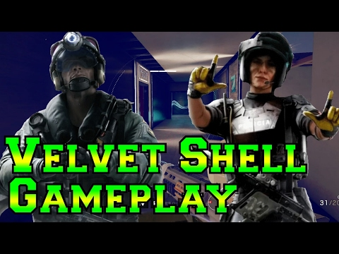 Velvet Shell Jackal and Mira Gameplay - Rainbow Six Siege