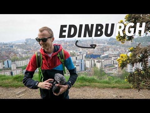 spending an entire day exploring EDINBURGH!