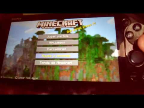 Cómo Acer el truco del Minecraft PS vita de pone de supervivencia a creativo sin salir del mapa