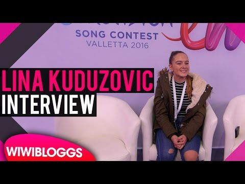 Interview: Lina Kuduzovic @ Junior Eurovision 2016  | wiwibloggs