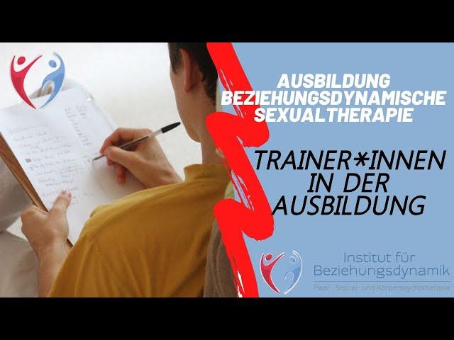 Trainer*innen/ Dozent*innen der Ausbildung. Ausbildung Beziehungsdynamische Paar- & Sexualtherapie