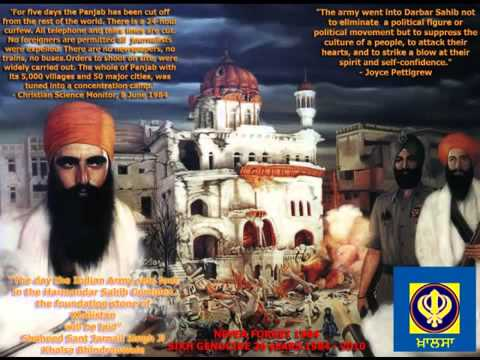 1984 Sikh Genocide - Indian Government Exposed MUST LISTEN