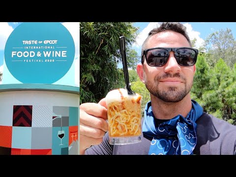 EPCOT's Food & Wine Festival 2020! | Taste Testing, Characters, & Rides