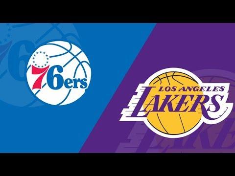 NBA Lakers VS 76ers Live Stream |LINK IN BELOW| - YouTube