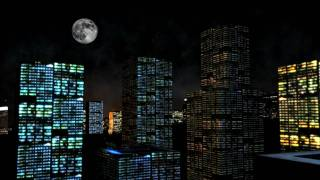3D City made in Aftereffects 720P HD