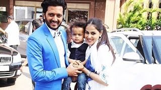 Riteish Deshmukh and Genelia D'souza With Their CUTE Baby