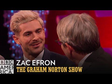 Zac Efron's Top Notch Movie Recommendations | The Graham Norton Show | BBC America