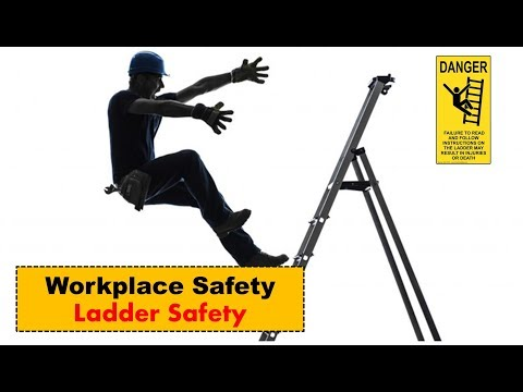 safety-in-the-workplace---workplace-safety---tips-on-workplace-safety---ladder-safety