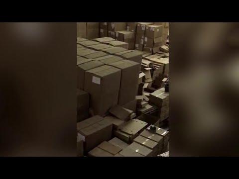 Более двух миллионов пачек поддельных сигарет изъяли в Подмосковье и Ярославской области.