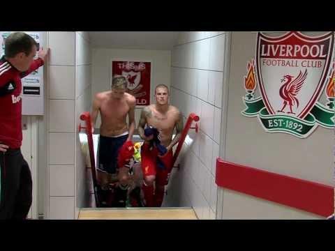 Liverpool FC Vs Stoke Tunnelcam