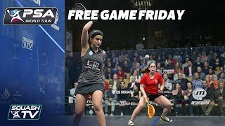 Squash: Free Game Friday - El Tayeb v Evans - Windy City Open 2018