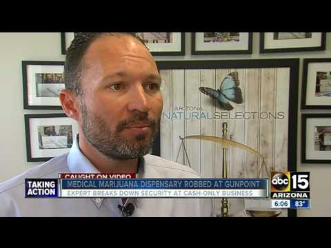 Expert Breaks Down Security At Cash-only Medical Marijuana Dispensaries