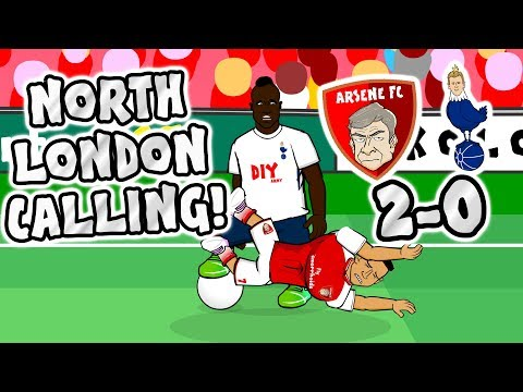 Thumbnail: 🎸NORTH LONDON CALLING🎸 Arsenal beat Spurs 2-0! (Derby 2017 Parody)