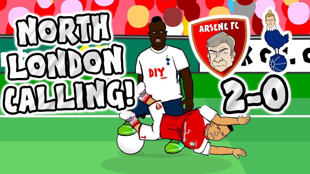 north-london-calling-arsenal-beat-spurs-2-0-derby-2017-parody