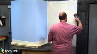 Cubrir gotelé y otras superficies con relieve (Bricocrack)