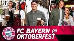 FC Bayern at Oktoberfest 2018
