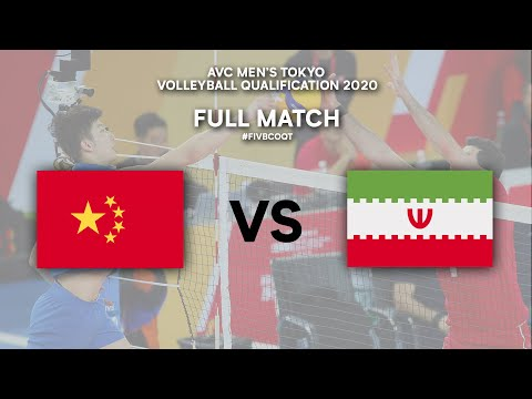 Download Final: CHN vs. IRI - Full Match | AVC Men's Tokyo Volleyball Qualification 2020