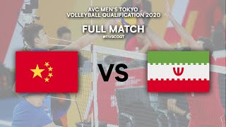 LIVE  CHINA v IRAN | AVC Men's Tokyo Volleyball Qualification 2020