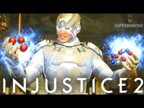 "Epic God Atom Ultimate Clutch! - Injustice 2 ""Atom"" Gameplay (Online Ranked)"