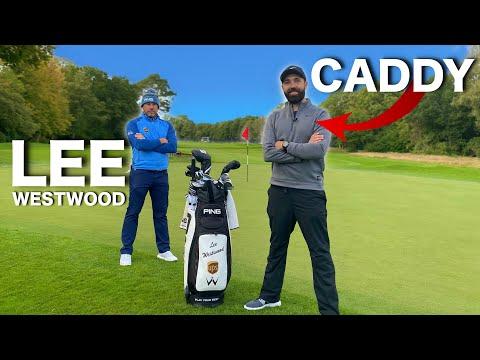 I caddy for Tour Professional Lee Westwood | UNDER PAR!? - Rick Shiels Golf