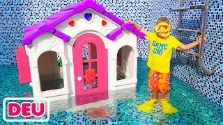 Vlad und Nikita suchen ein neues Spielhaus