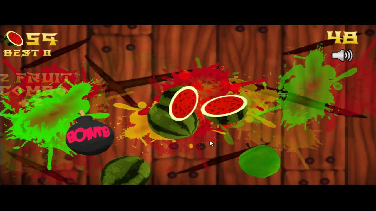 ловить фрукты играть онлайн