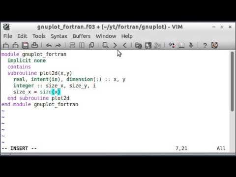 fortran write array format
