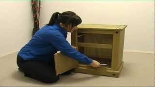 Corona Bedside Cabinet Cr510 Assembly