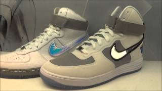 nike lunar force 1 hi wow qs af1 downtown hi space pack sneaker reviews w djdelz
