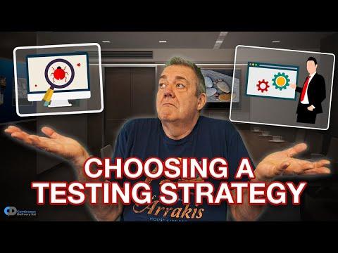 Testing Strategy for DevOps