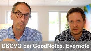 Frag Lars - DSGVO mit GoodNotes und Evernote