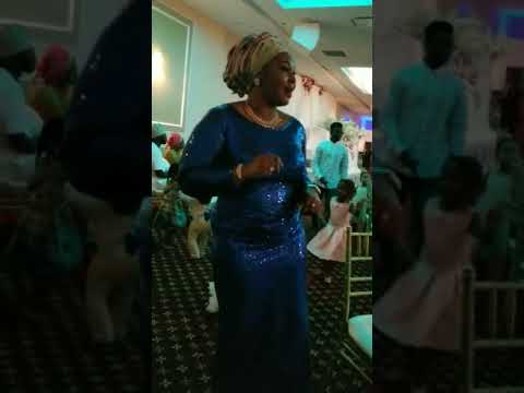 My mom dancing to Nigerian music