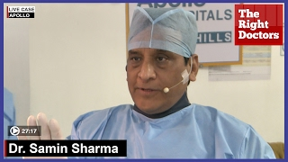 LAD Bifurcation Lesion From Mount Sinai-New York | Dr. Samin Sharma| CSI NIC Live Surgery