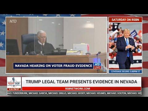 Nevada Hearing on Election Fraud 12/3/20