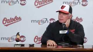 Buck Showalter shares his thoughts on his garden gnome