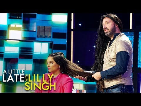 Tony Hale Shows How NOT to Act During a Taping of A Little Late with Lilly Singh