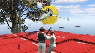JET İLE EZMEK!! - GTA 5 Online Komik Anlar #121