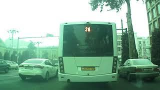 Копия видео ''Душанбе ранним утром от Медгородка до библиотеки Фирдавси 05-12-2017''
