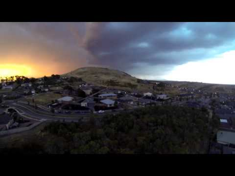 Storm Chasing with a Quadcopter