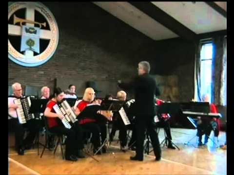 East Antrim Seniors Accordion Orchestra - Carrickfergus