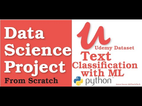 Text Classification with Machine Learning using Udemy Dataset & Python