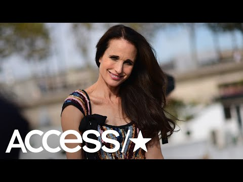 Andie MacDowell Slays In Her Triumphant Return To The Runway At 60 Years Old  Access