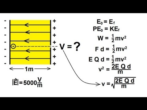 Physics - Electrical Potential and Electrical Potential Energy (2 of 6)