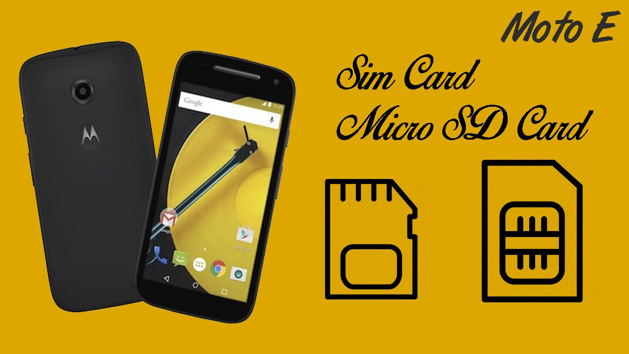 As it displays all the messages on sim card, you can edit the messages and copy them into phone memory. Moto E 2nd Gen - How to insert Sim Card & Memory Card ...