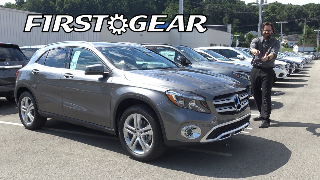 2018 Mercedes Benz Gla 250 Review And Test Drive First Gear